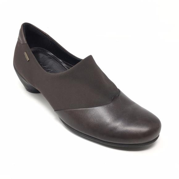 ecco slippers women
